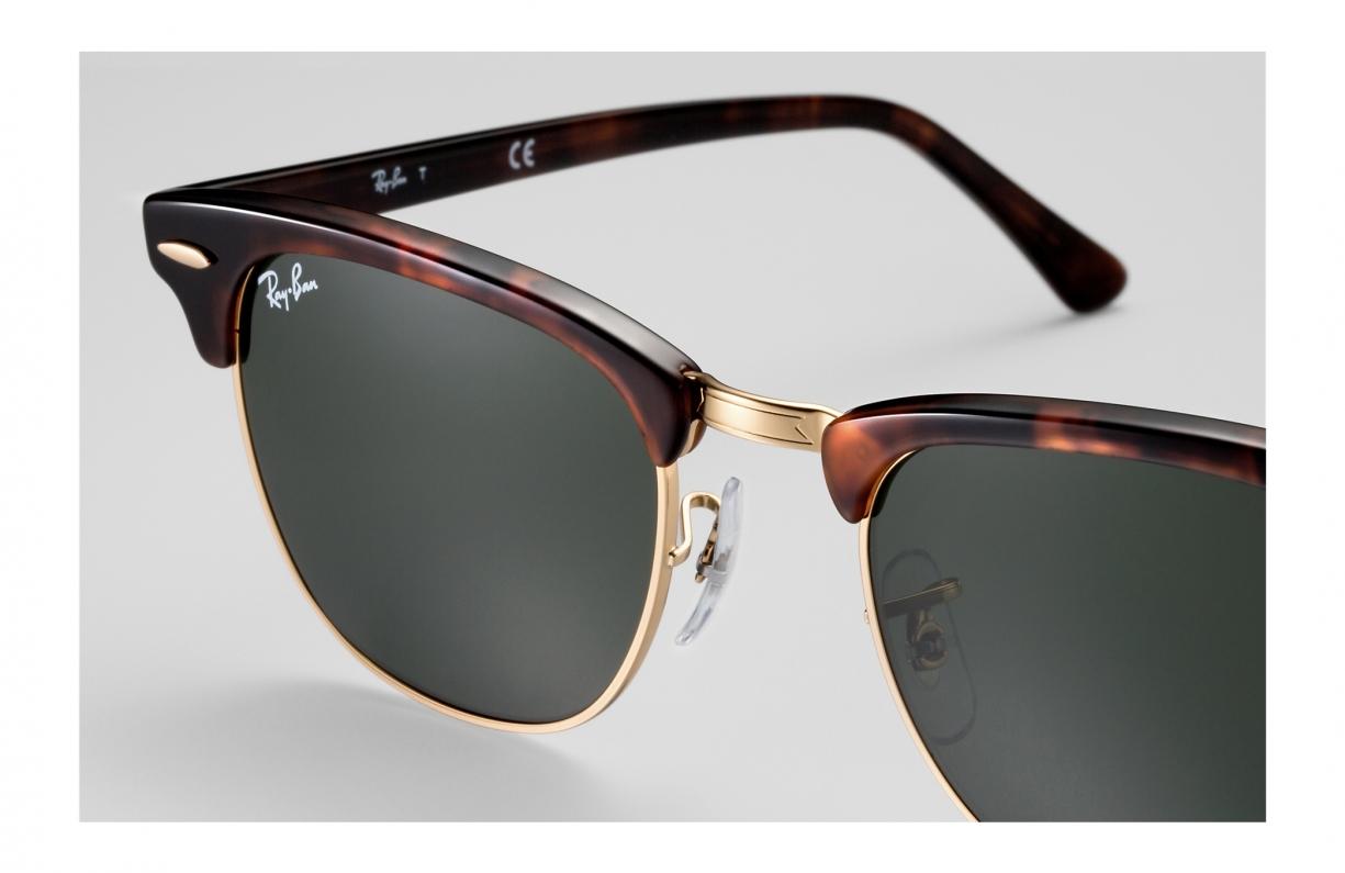 gafas de sol ray ban rb3016 w0366 51mm clubmaster
