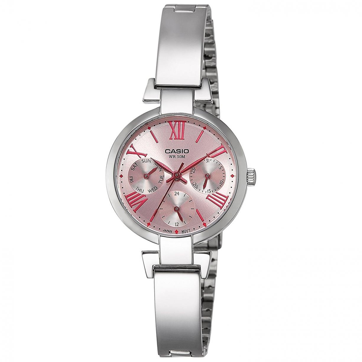 440860d4b866 Reloj De Pulsera Casio Analogico Para Mujer. Modelo Ltp-e404d-4avdf
