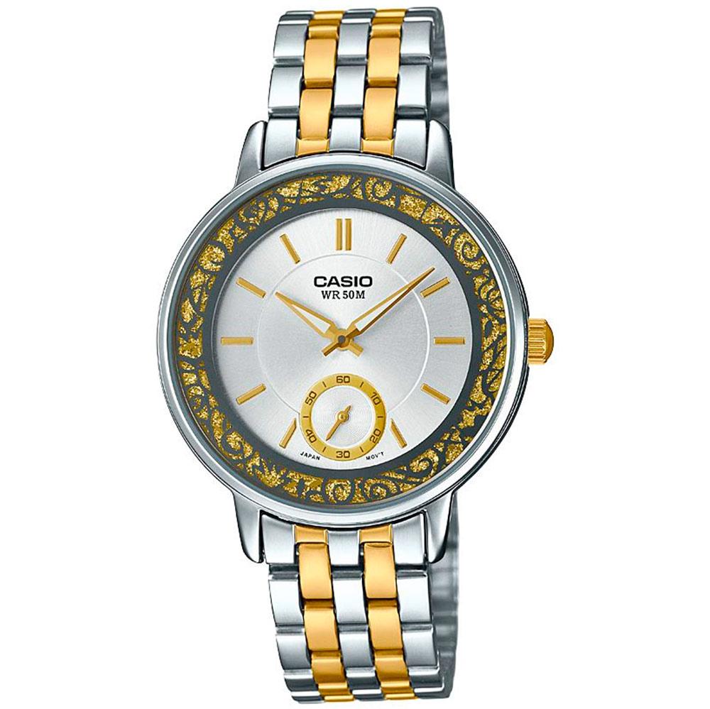48459fff523b Reloj De Pulsera Casio Analogico Para Mujer. Modelo Ltp-e408sg-7avdf