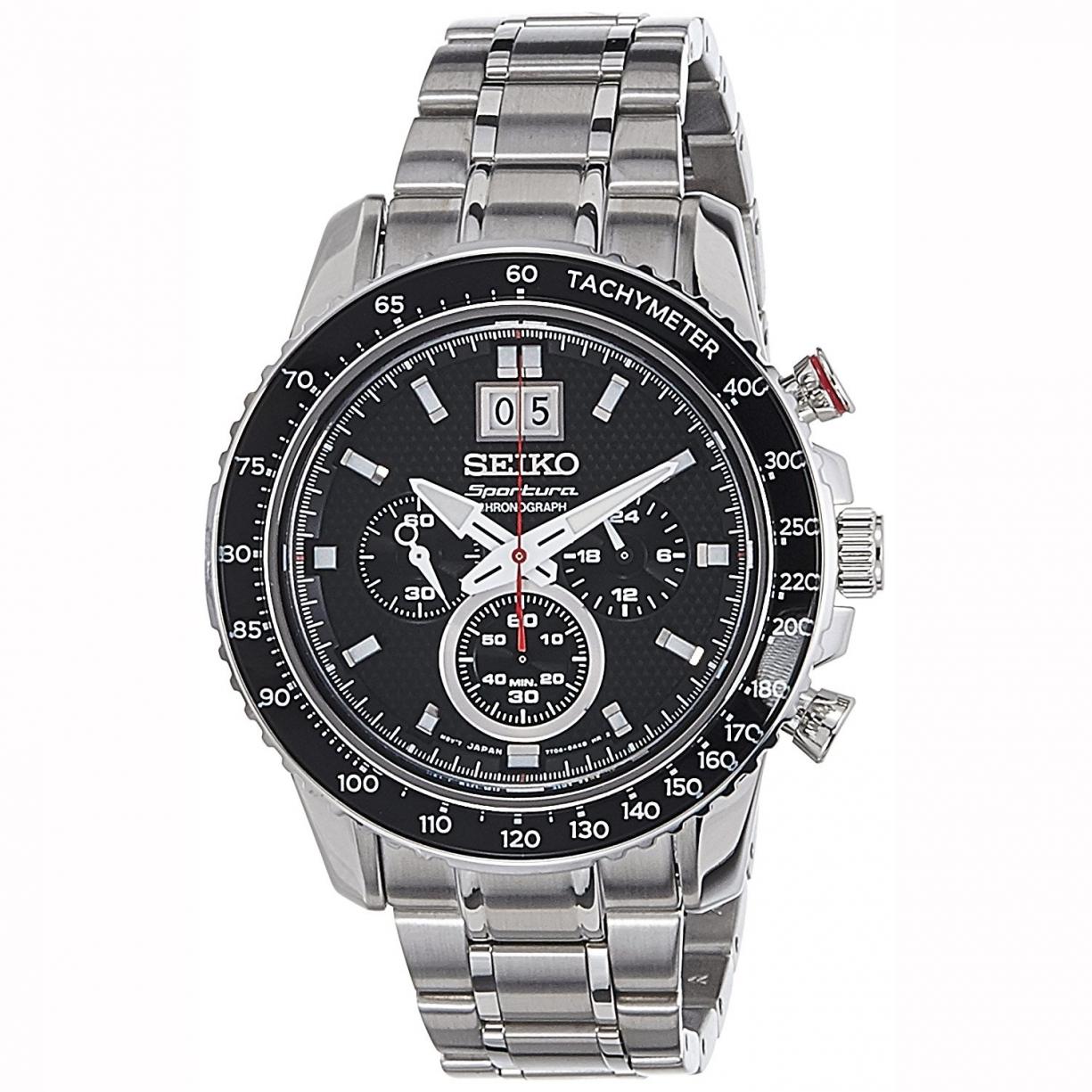 6d617e48be7c Reloj De Pulsera Seiko Cronografo Para Hombre. Modelo Spc137p1