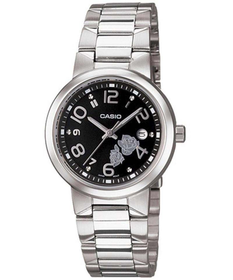 f05cf7429287 Reloj De Pulsera Casio Analogico Para Mujer. Modelo Ltp-1292d-1adf