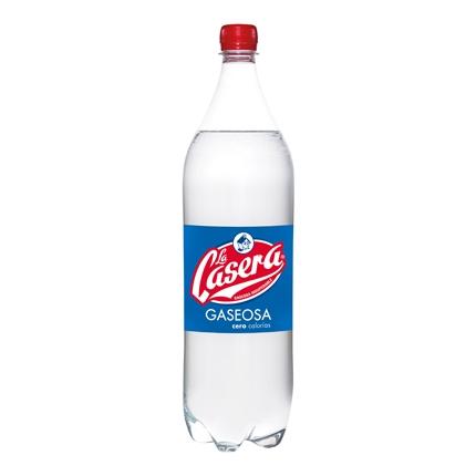 Gaseosa La Casera cero calorías botella 1,5 l.