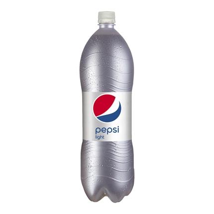 Refresco de cola Pepsi light botella 2 l.