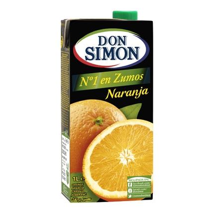 Zumo de naranja Don Simón brik 1 l.