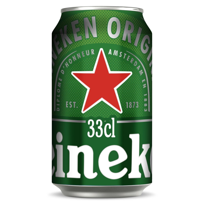 Cerveza Heineken Lager lata 33 cl.