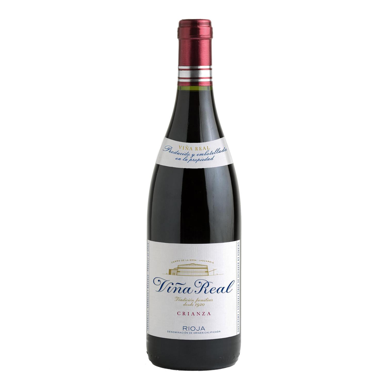 Vino D.O. Rioja tinto crianza Viña Real 75 cl.