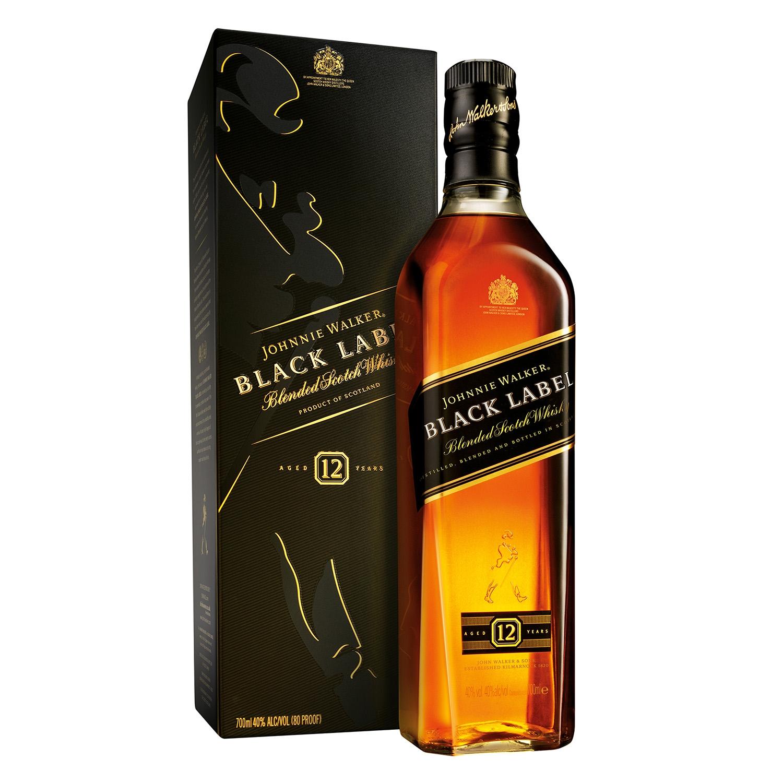 Whisky Johnnie Walker Black Label escocés 12 años 70 cl.