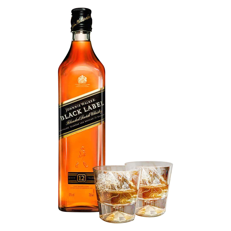 Whisky Johnnie Walker escocés  12 años 70 cl. -
