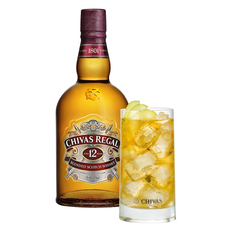 Whisky Chivas Regal escocés 12 años 70 cl. -