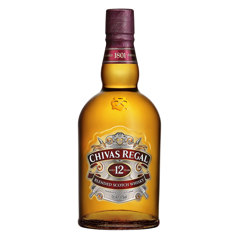 Whisky Chivas Regal escocés 12 años 70 cl. - 2