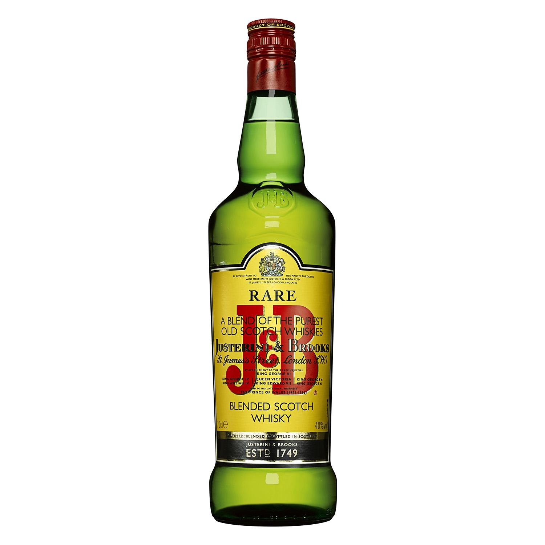Whisky J&B escocés viejo 70 cl.