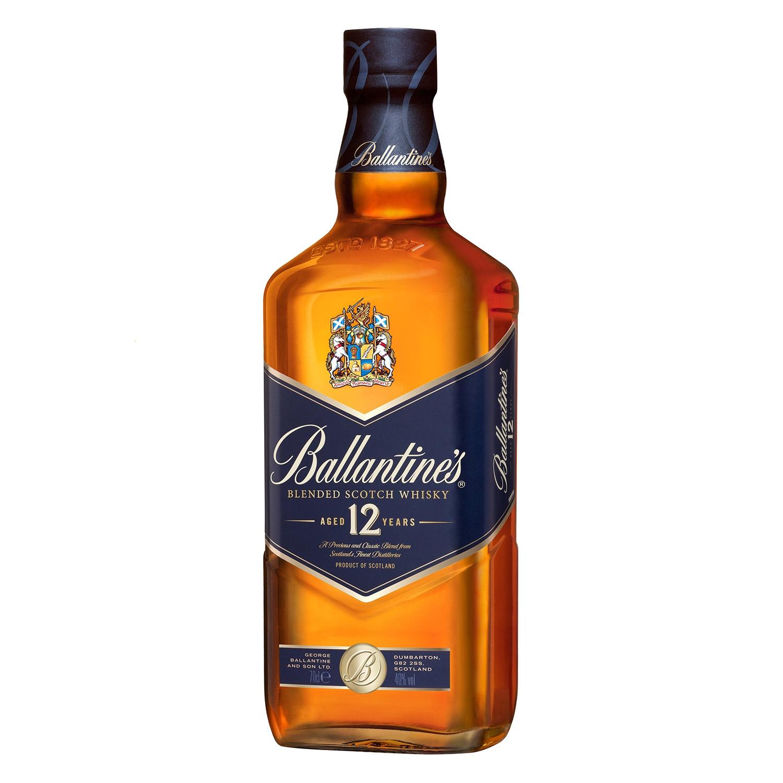 Whisky Ballantine's escocés reserva 12 años 70 cl. -