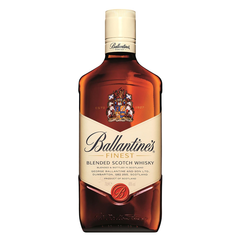 Whisky Ballantine's escocés 70 cl.