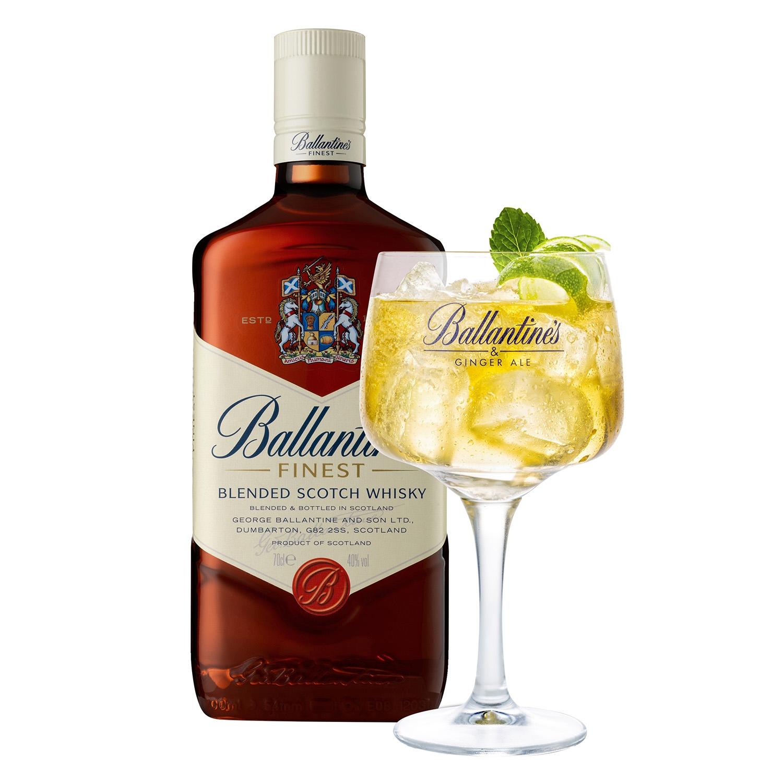 Whisky Ballantine's escocés 70 cl. -