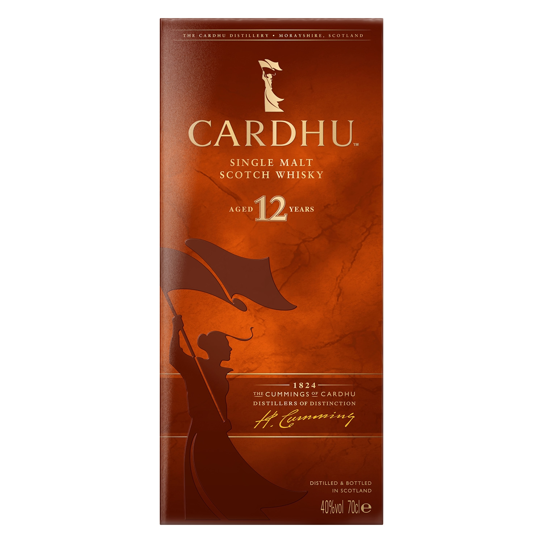 Whisky Cardhu escocés 12 años 70 cl. -