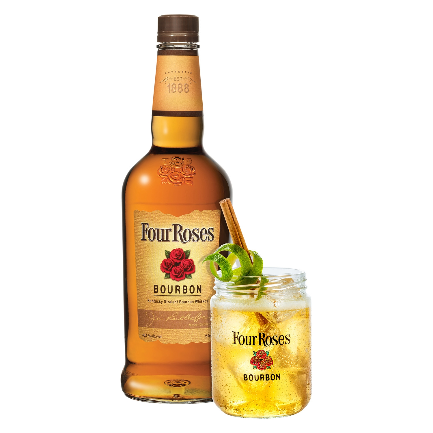 Whisky Four Roses bourbon 70 cl. -