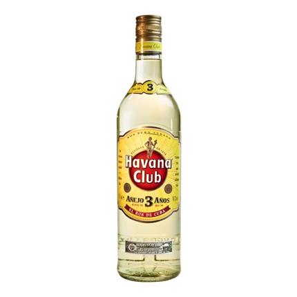 Ron Havana Club añejo 3 años 70 cl.