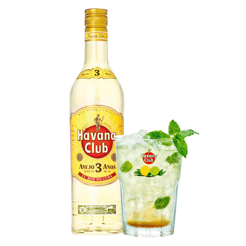 Ron Havana Club añejo 3 años 70 cl. -