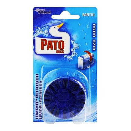 Desodorizante cisterna en pastilla agua Azul Pato 1 ud.