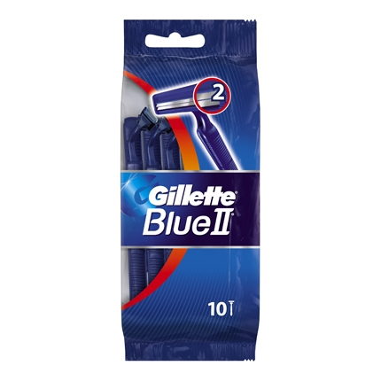 Desechable Blue II fija Gillette 10 ud.