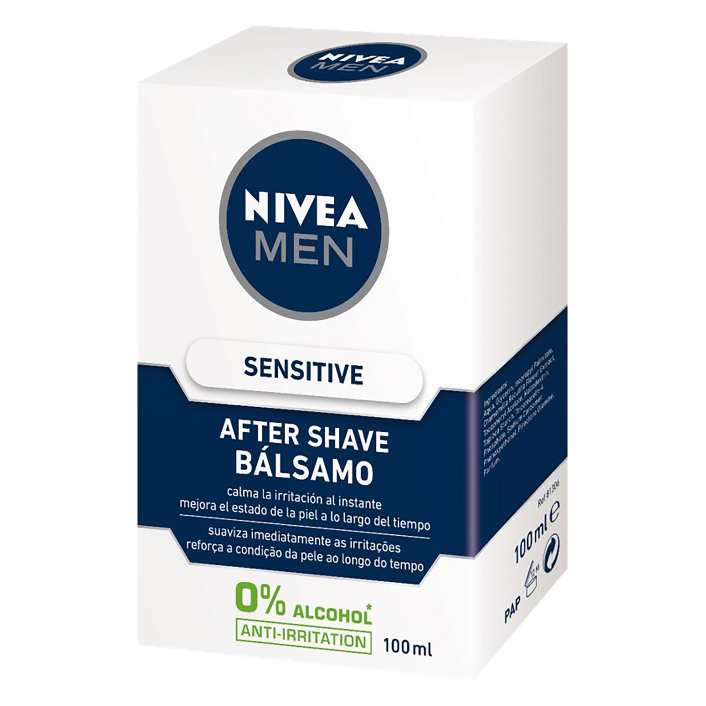 Bálsamo After Shave Sensitive Nivea Men 100 ml.