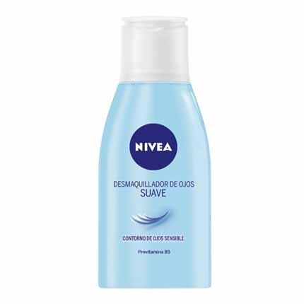 Desmaquillador de ojos suave Nivea 125 ml.