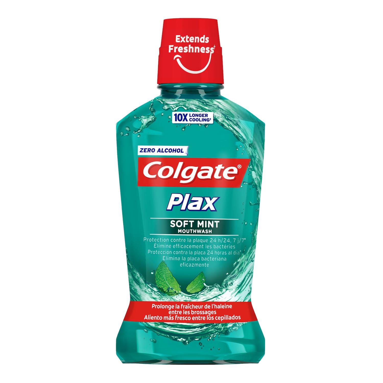 Enjuague bucal Plax Multiprotección Colgate 500 ml.