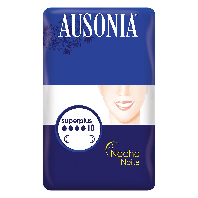 Compresas noche superplus Ausonia 10 ud.