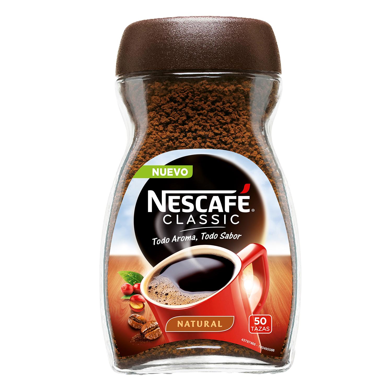 Café soluble natural classic Nescafé 100 g.