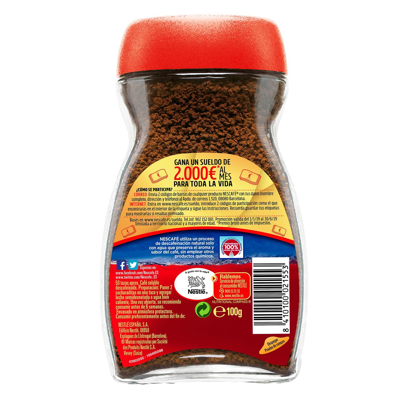 Café soluble mezcla descafeinado classic -
