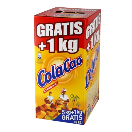Cacao soluble Cola Cao 5 kg.