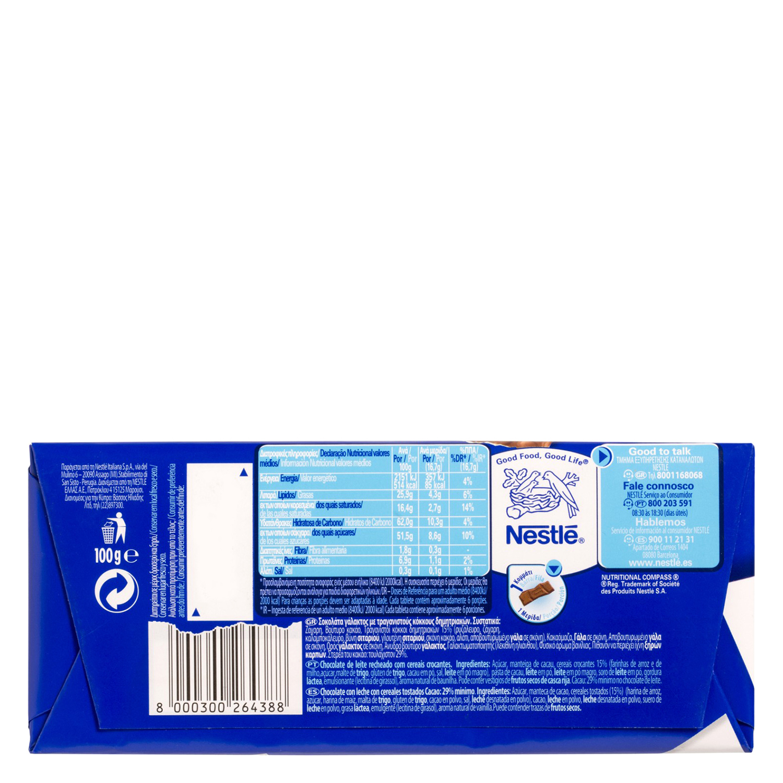 Crunch Nestlé 100 g. -