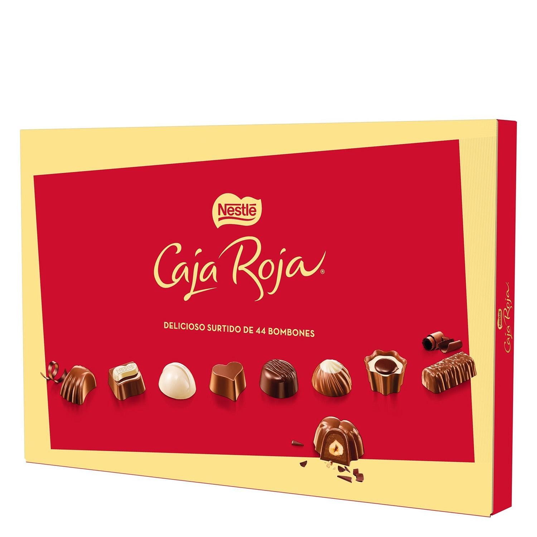 Bombones surtidos de chocolate -