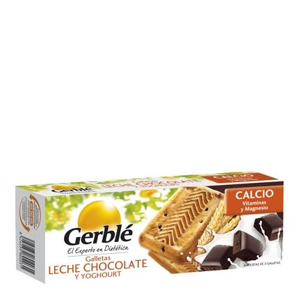 Galletas con chocolate, leche y yogur Gerblé 230 g.