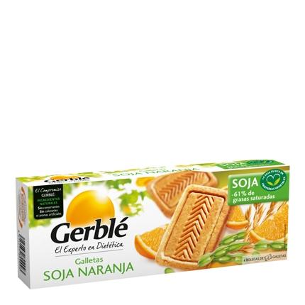 Galletas de soja y naranja Gerblé 280 g.