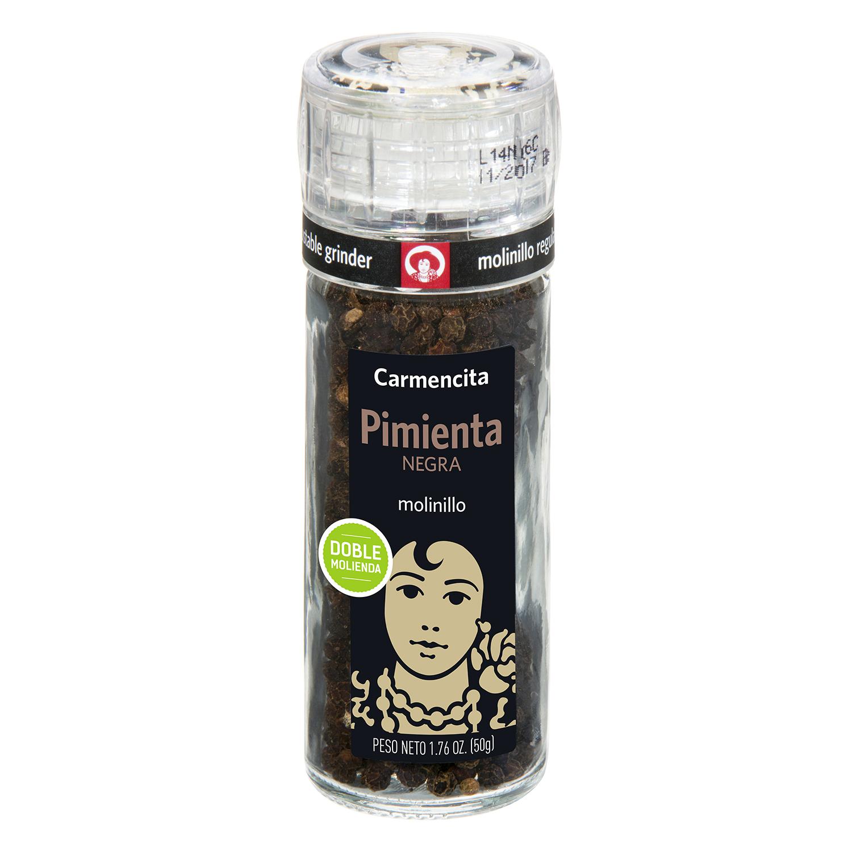 Molinillo pimienta negra Carmencita 42 g.