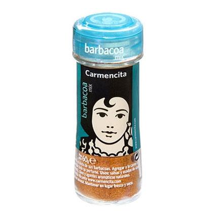 Sazonador para barbacoa Carmencita 60 g.