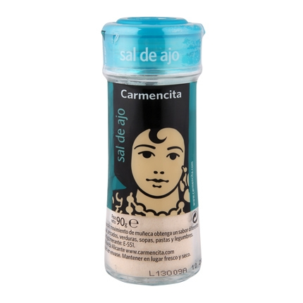 Sal de ajo Carmencita 90 g.