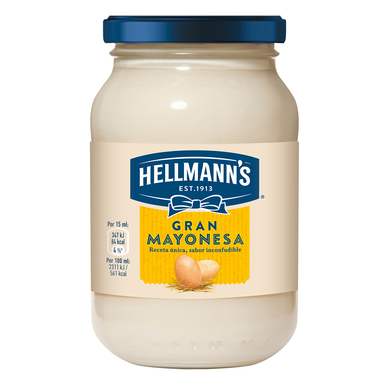 Mayonesa Hellmann's tarro 225 ml.