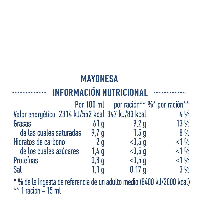 Mayonesa Hellmann's tarro 225 ml. - 3