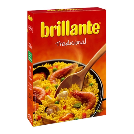 Arroz largo vaporizado Brillante 1 kg.