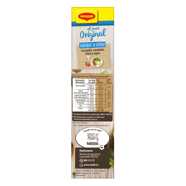 Puré de patatas con leche Maggi sin gluten 230 g. - 3