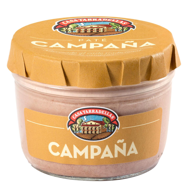 Paté de campaña Casa Tarradellas 125 g.