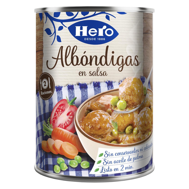Albóndigas en salsa Hero 430 g.