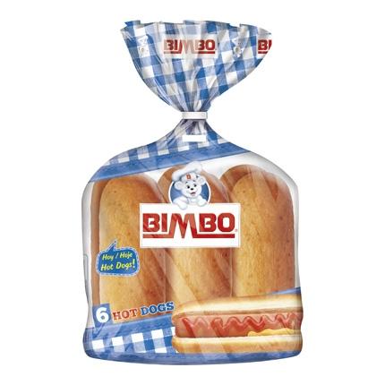 Panecillos para perritos Bimbo 330 g.