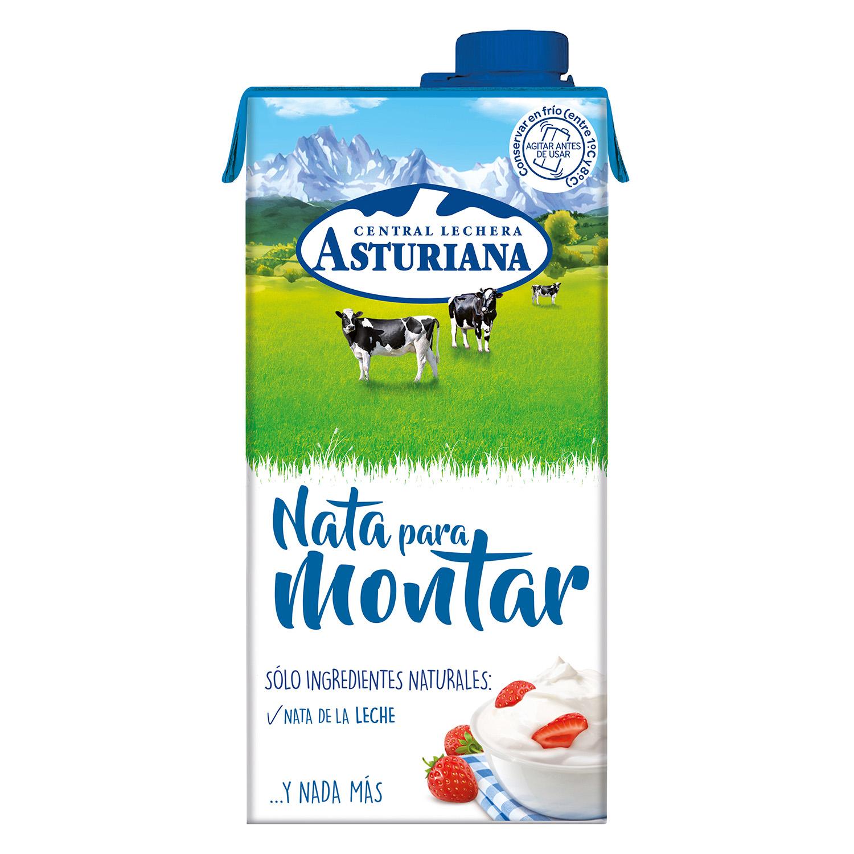 Nata para montar Central Lechera Asturiana 1 l.