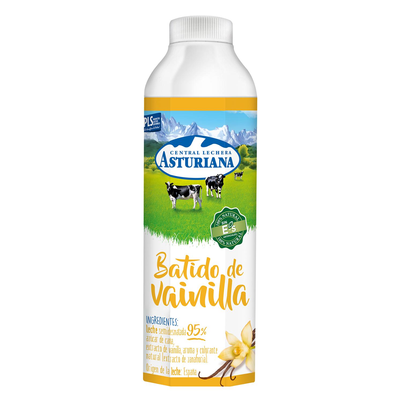 Batido de vanilla Central Lechera Asturiana botella 1 l.