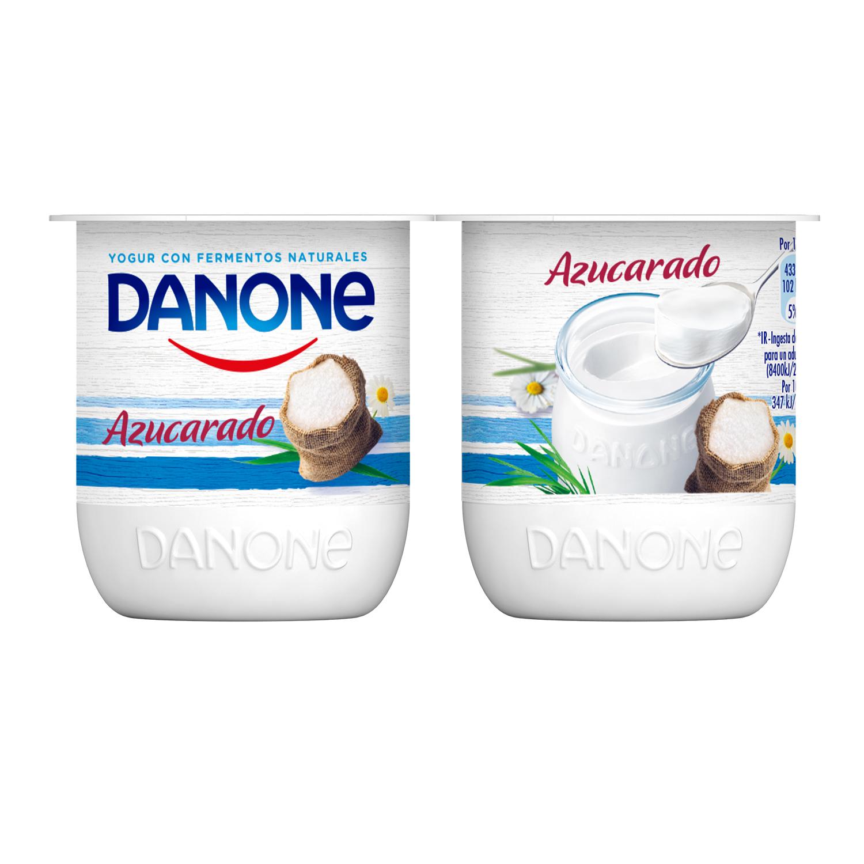 Yogur natural azucarado -