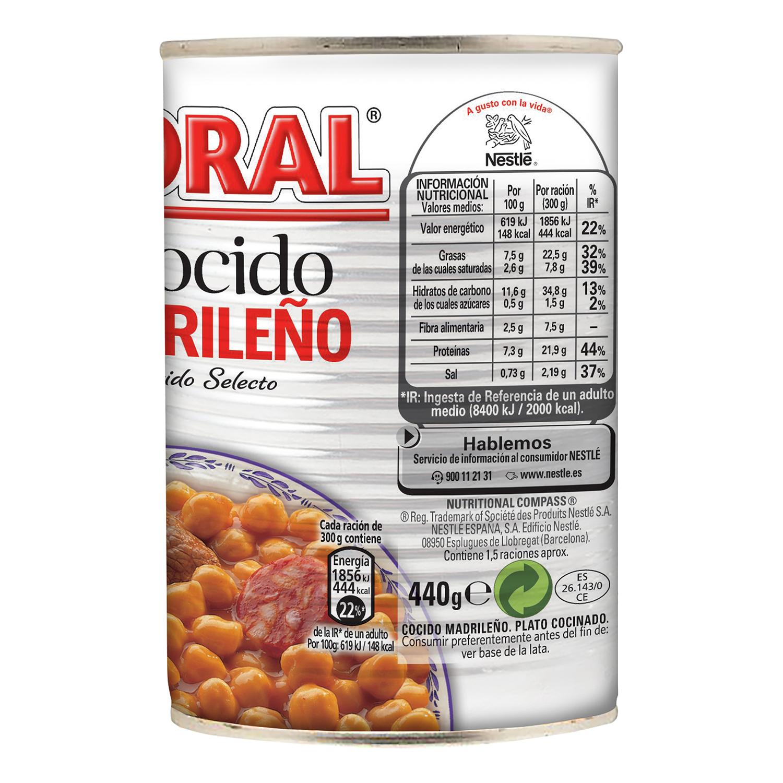 Cocido madrileño Litoral 440 g. - 2