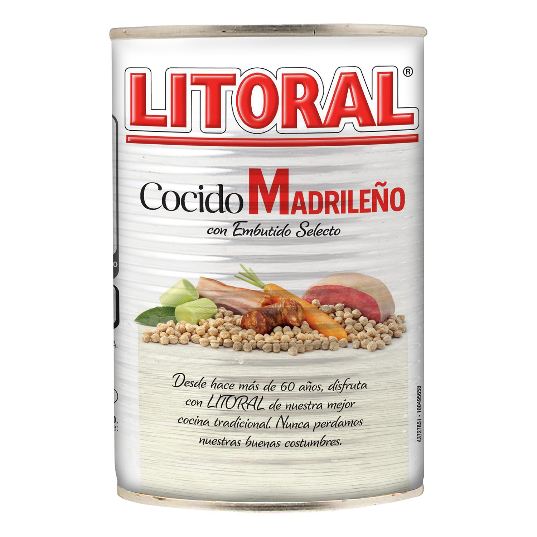 Cocido madrileño Litoral 440 g. - 3